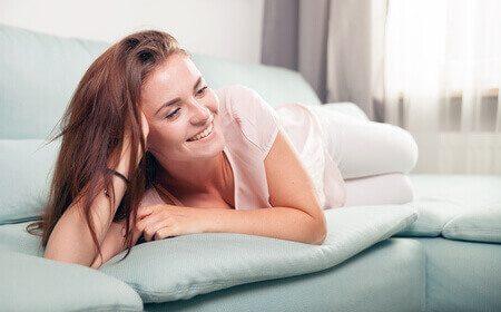 אשה בבית מנוחה
