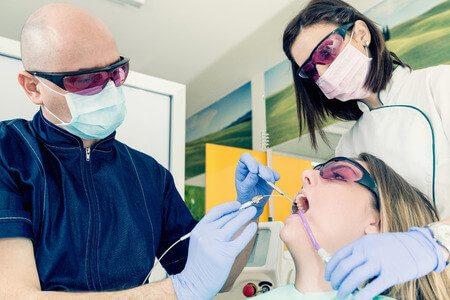 טיפול שיניים בלייזר