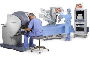 רובוט דה וינצ'י סרטן הערמונית