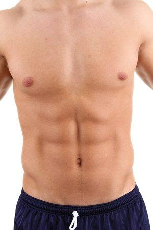 עיצוב קוביות בבטן SIX PACK MALE